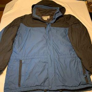 Columbia Vertex Hooded Winter Coat Ski Jacket XL